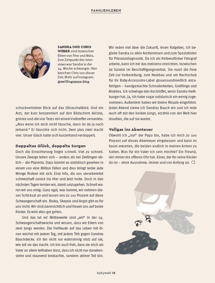 unser interview in der ROSSMANN babywelt Februar 2020 - Seite 2